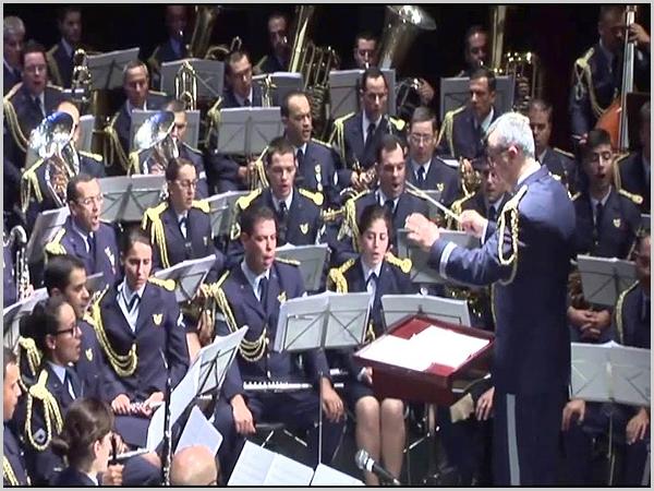Banda da Força Aérea actuou nos Fóios