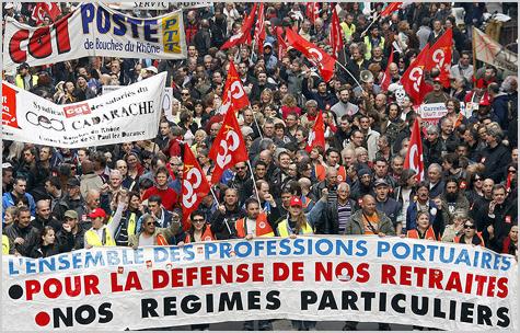 Manifestações Paris