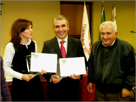 Gala Federação Bombeiros Distrito Guarda - Delfina Leal e Luís Carlos Carriço
