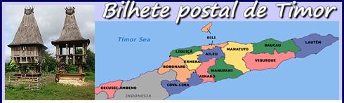 Bilhete Postal de Timor Leste - Por José Bispo