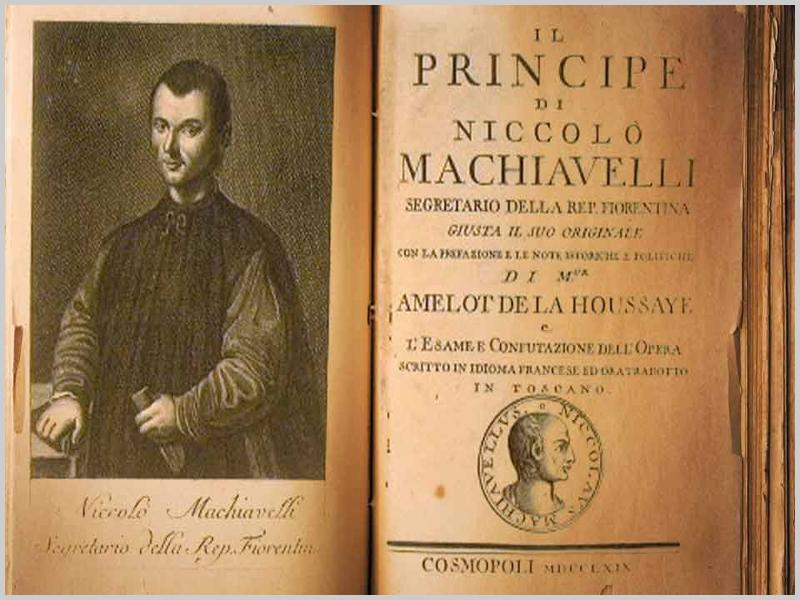 O Príncipe, de Maquiavel