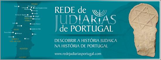 Rede Judiarias de Portugal - Mapa - Capeia Arraiana