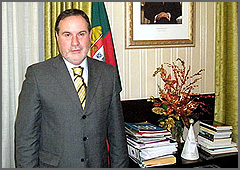 Santinho Pacheco - Governador Civil - Guarda