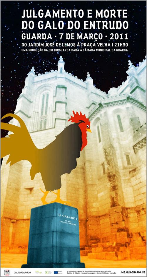 Cartaz Julgamento Galo 2011 - Guarda - Capeia Arraiana