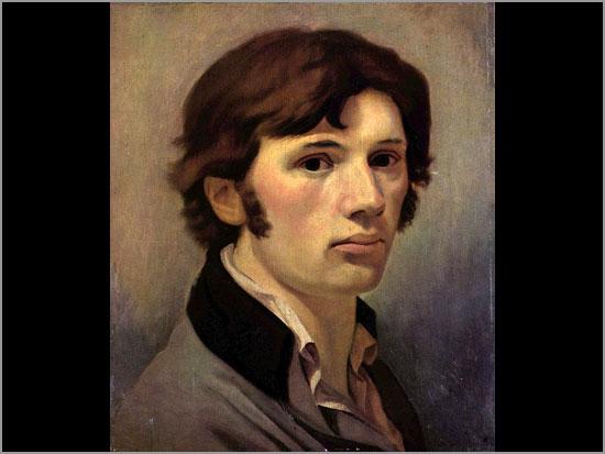 Auto- retrato de Philipp Otto Runge - pintor alemão - séc. XIX - Capeia Arraiana