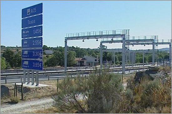 Pórticos na A25 - Aveiro-Vilar Formoso - capeiaarraiana.ptrraiana
