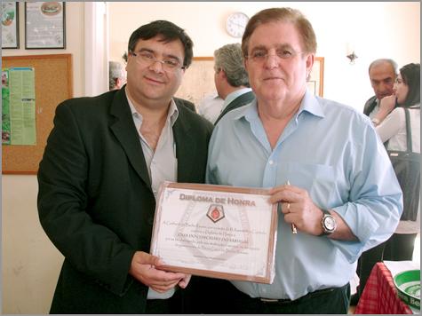 Paulo Leitão Batista - José Lucas - Diploma de Honra - Casa Concelho Sabugal - Confraria Bucho Raiano - Foto Capeia Arraiana