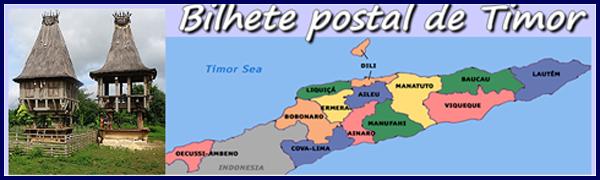 Bilhete Postal de Timor - José Bispo