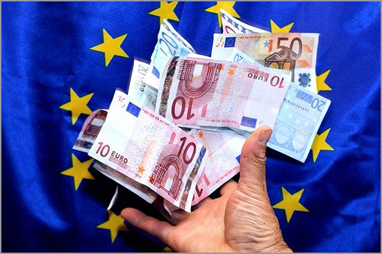 Euro é a moeda da União Europeia