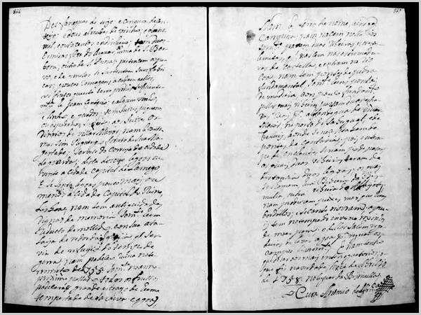 Censos do Marquês de Pombal em 1758