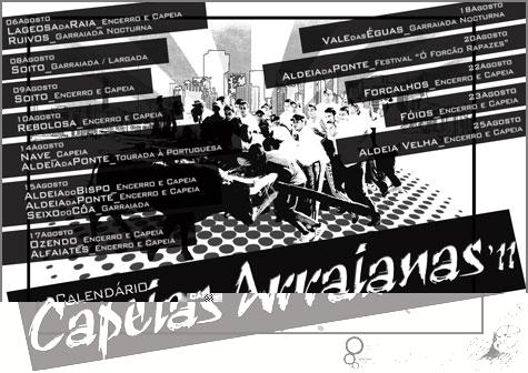 Calendário Capeias Arraianas - 2011 - Autor: Edgar Fernandes