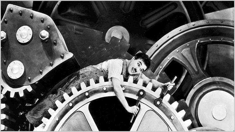 A construção da modernidade - Charlie Chaplin - Capeia Arraiana