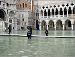 Veneza em dias de Acqua Alta