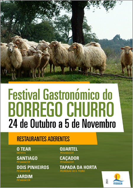 1.º Festival Gastronómico do Borrego Churro - Penamacor