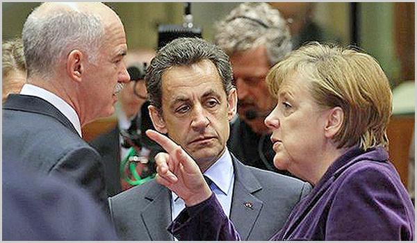 Sarkozy e Merkle