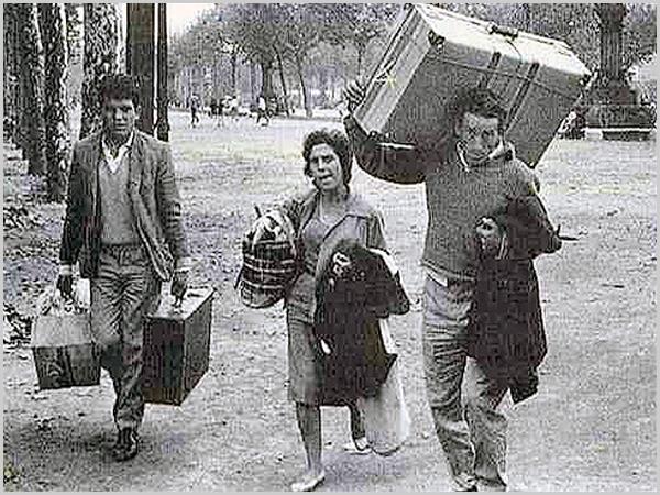 Emigrantes com a «mala de cartão»