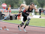 Oscar Pistorius, atleta paraolímpico sul-africano