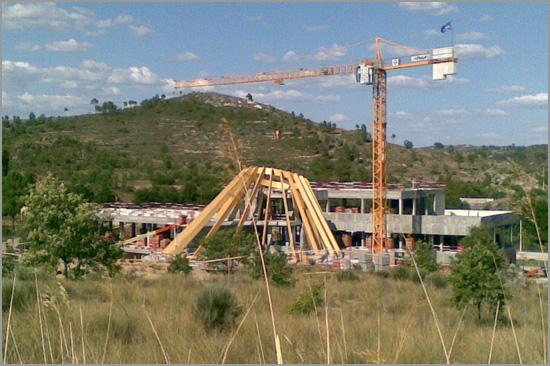 Construção Balneário Termas do Cró - Sabugal - Foto:  Marco Capela