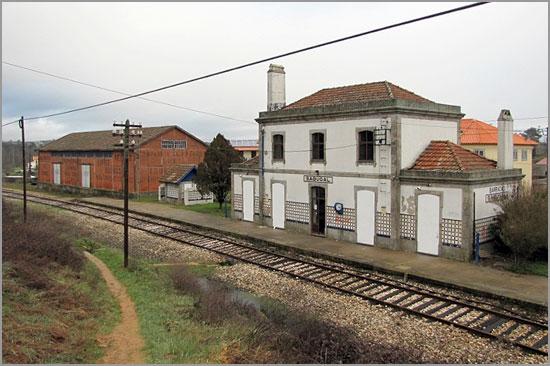 Estação do Barracão Sabugal - CP - Capeia Arraiana