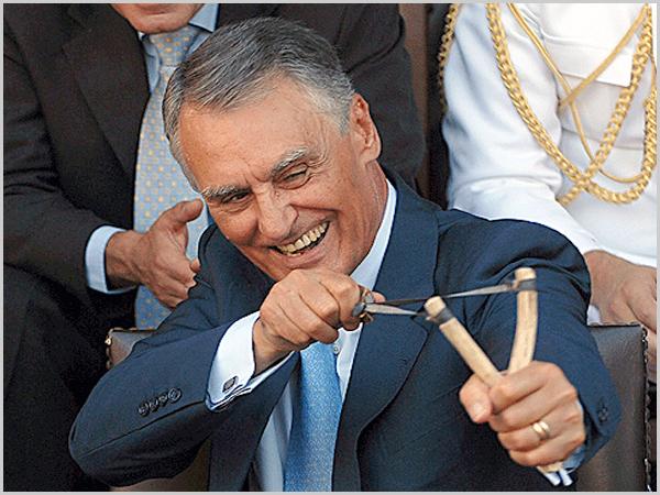 Cavaco Silva e a fisga