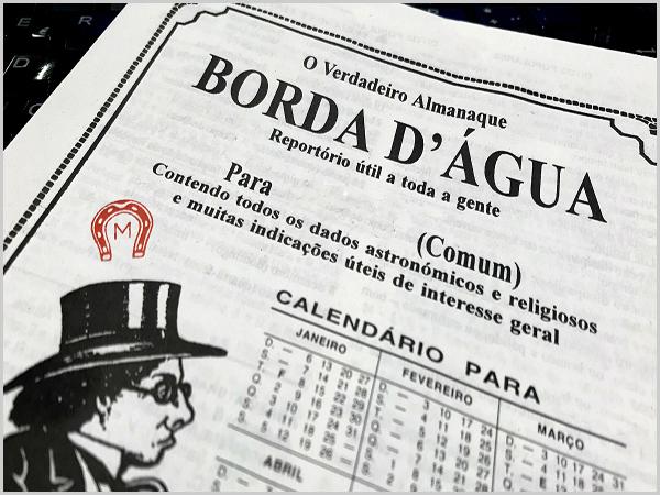 Jornal anual Borda D'Água