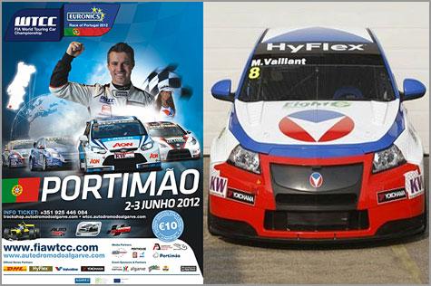 Tiago Monteiro - Michel Vaillant - Algarve