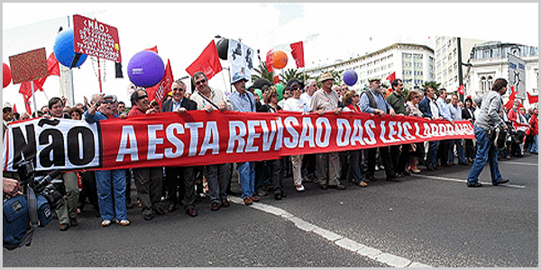 Manifestação laboral
