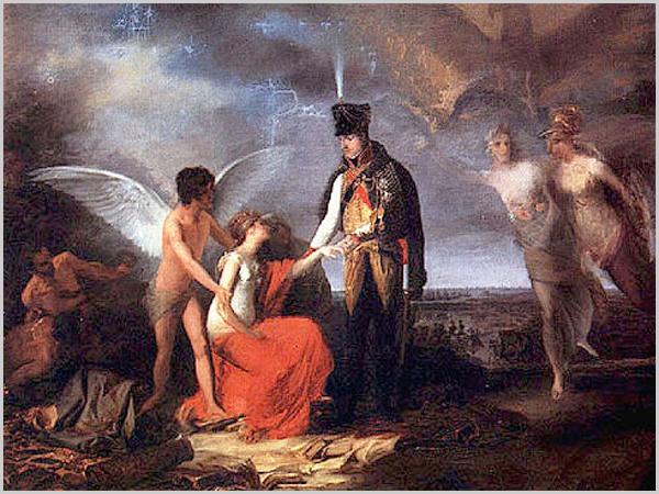 Junot protegendo Lisboa - pintura de Domingos Sequeira