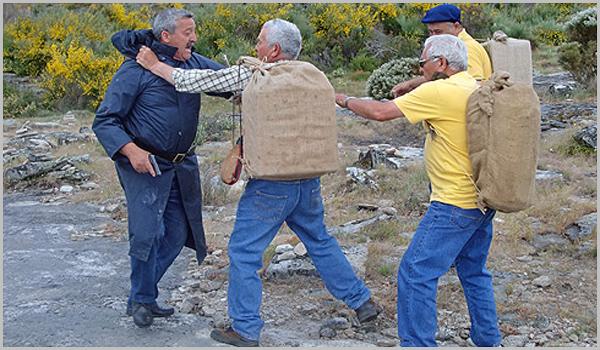Contrabandistas na Raia Sabugalense