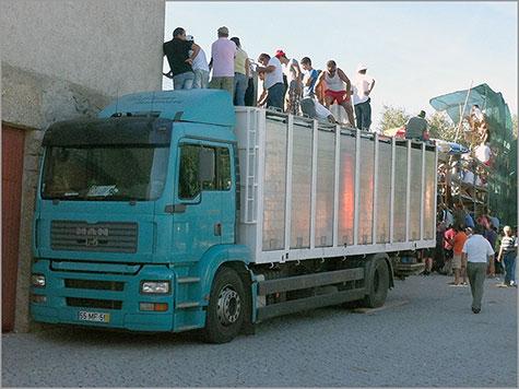 Camião do Ganadero José Manuel Duarte Fininho - Sabugal