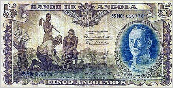 Cinco Angolares - Banco de Angola