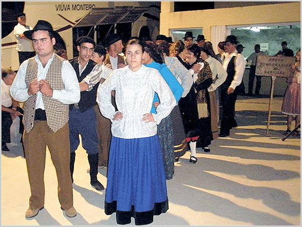 As indumentárias antigas do Grupo Etnográfico do Sabugal
