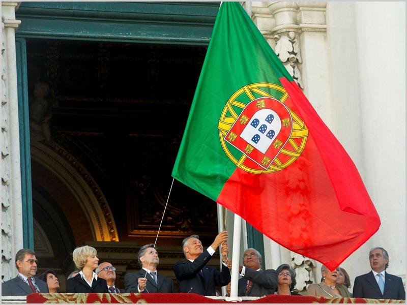 Bandeira nacional foi içada ao contrário na Câmara Municipal de Lisboa