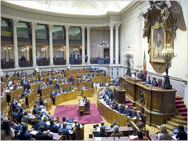 Assembleia da República – Sala do Senado