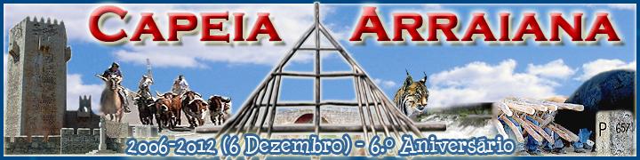 Capeia Arraiana - 6.º Aniversário - 720x180