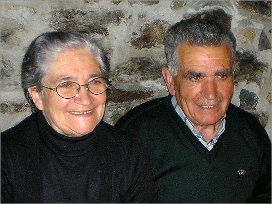 José Soares Ricardo (na foto com Maria Cândida Vinhas) - Personalidade do Ano 2012