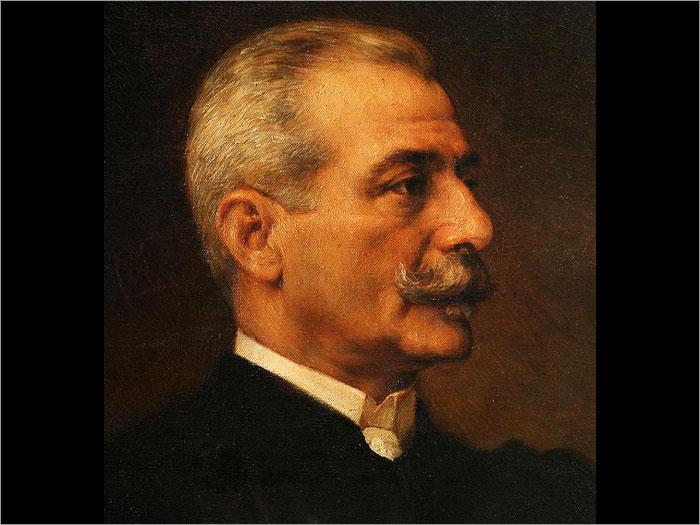 Miguel Bombarda. Retrato a óleo da autoria de Veloso Salgado