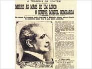 Notícia do jornal O Século, de 4 de Outubro de 1910, sobre a morte de Miguel Bombarda
