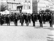 Funeral de Miguel Bombarda e do Almirante Cândido dos Reis