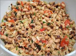 Gastronomia - Salada Feijão Frade - Capeia Arraiana