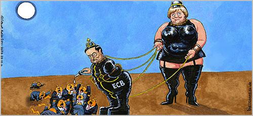 Merkel e Draghi - Passeio pelo Côa - António Emídio - Capeia Arraiana
