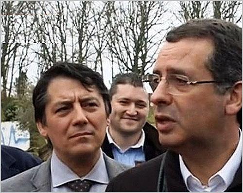 António José Vaz, Nuno Mota e António José Seguro - Aldeia Santo António - Sabugal - Capeia Arraiana