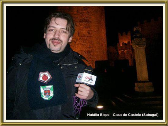 Imagem da Semana - Março 2013 - Miguel Rocha na Casa do Castelo - Natália Bispo - Capeia Arraiana