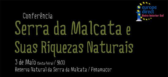 Conferência «Serra da Malcata e as suas riquezas naturais» em Penamacor