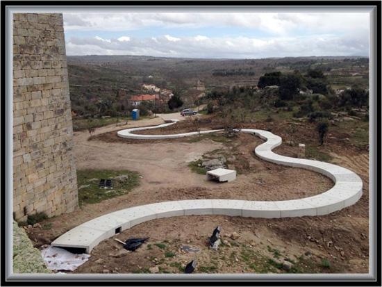 Imagem da Semana - Abril 2013 - Investimento a fundo perdido em Vilar Maior - Capeia Arraiana