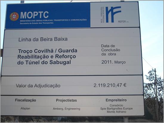 Estação CP Barracão - Sabugal - Linha Beira Baixa - Capeia Arraiana