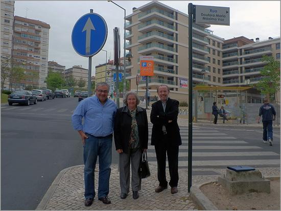 José Carlos Lages, Maria Máxima Vaz e Adérito Tavares - Odivelas - Capeia Arraiana
