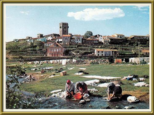 Imagem da Semana - 10 Junho 2013 - Lavadeiras no rio Côa junto ao Sabugal - Capeia Arraiana