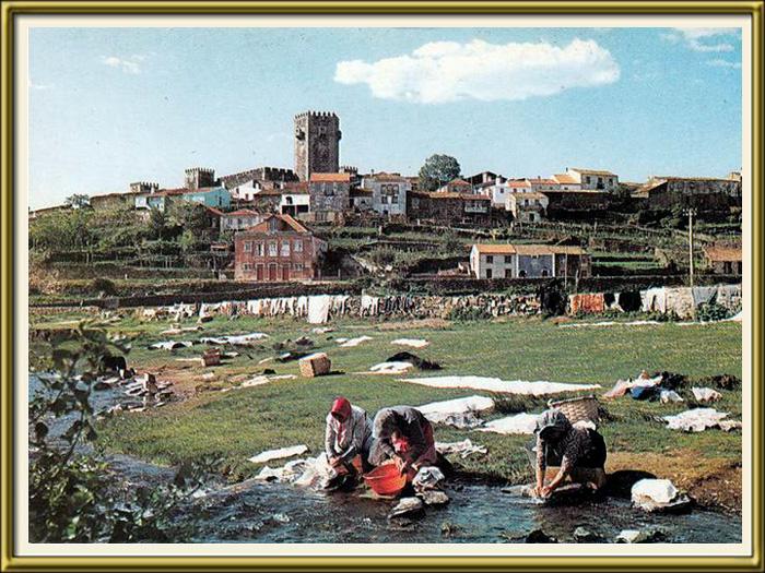 Lavadeiras no rio Côa junto ao Sabugal