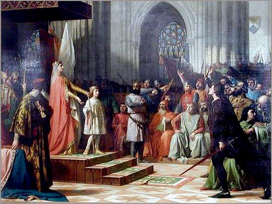 Maria de Molina (Rainha de Castela) apresenta à corte o filho D. Fernando IV com nove anos - capeiaarraiana.pt